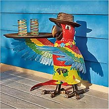 LQLQ Drink Serving Parrot Butler, Parrot Butler