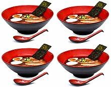 LQST Nouilles Soupe Bol Ensemble Ramen Bol Style