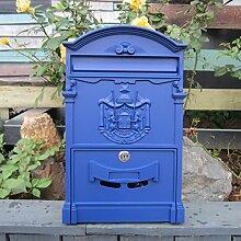 LQZYTY Boîte aux lettres de style européen -