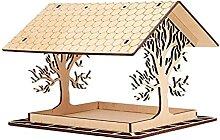 LRWEY Maison Oiseaux, Mangeoire Oiseaux Exterieur,