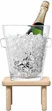 LSA International Seau à Champagne sur Pied et