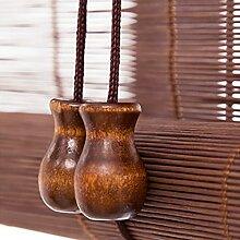 LSMK Store Enrouleur Bambou Stores en Bambou De