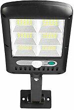 LTDD Lampadaire solaire d'extérieur 120 LED