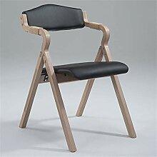 LTHDD Chaise de salle à manger pliante moderne et