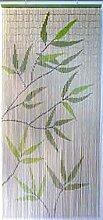Luance 650 Rideau Collant Motif Feuilles Bambou