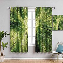 LucaSng Rideau Occultant Thermiques - Vert Plantes