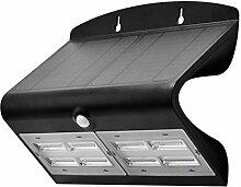 LUCECO LEXS80B40 Projecteur Solaire LED IP44 +