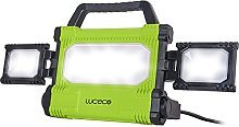 Luceco Projecteur Chantier 50W LED, Lampe IP65