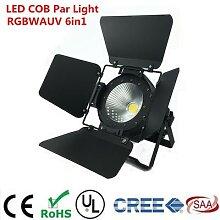 Luces Disco COB 200W RGBWA UV 6 en 1, éclairage