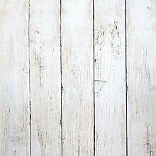 LUCKYYJ – papier peint en bois blanc