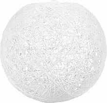 LUM&CO Abat-jour suspendu en forme de boule,
