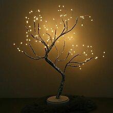 Lumière d'arbre de bonsaï de dessus de