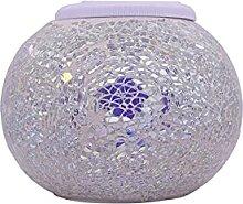 Lumière de boule de verre solaire, lumière de