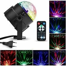 Lumière de scène LED, permis de fête,