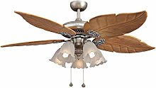 Lumière de ventilateur de plafond rétro Rétro