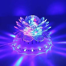 Lumière Disco rotative automatique RGB Led, boule