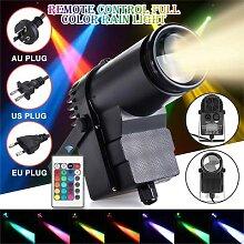 Lumière Disco rvb DJ LED Laser projecteur de