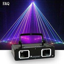 Lumière laser à faisceau RGBW DMX 512