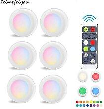 Lumière LED sans fil avec télécommande, 16