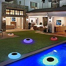 Lumières de Piscine flottantes - Lampe de Boule