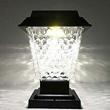 Lumières de sécurité Solaire, 3W LED Solar Post