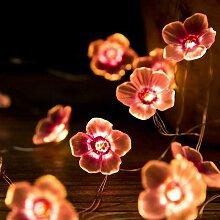 Lumières LED Sakura, Chaîne de Fleurs de