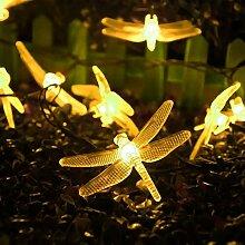 Lumières Solaires de Libellule,KINGCOO Étanche
