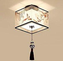 Luminaire créatif plafonniers chinois rond carré