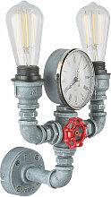 Luminaire de conduites d'eau vintage avec