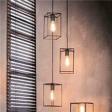 Luminaire design en métal gris ANDREW