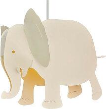 Luminaire éléphant blanc