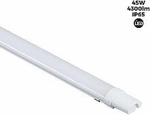 Luminaire étanche LED 45W IP65 150cm 4300lm