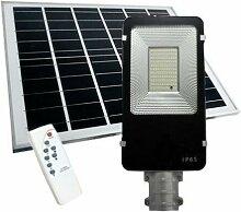 Luminaire Extérieur LED Solaire 50W Dimmable avec