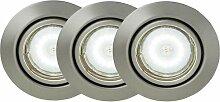 Luminaire intérieur encastrable 3 lampes design
