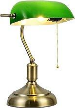Luminaire Lampe banquière avec une finition en