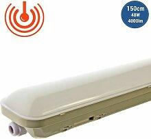 Luminaire LED étanche IP65 48W 150cm 4000lm avec