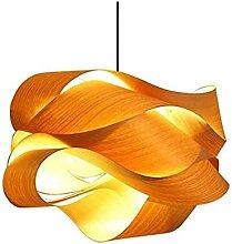 Luminaire Nouveau effet moderne de placage de bois