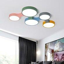 Luminaire Plafonnier de Moderne LED Coloré de