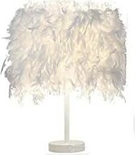 Luminaire Plume , Lampe de chevet, Lampe de Table