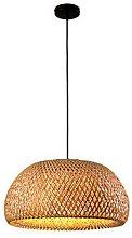 Luminaire suspendu en bambou lampara, lampe en