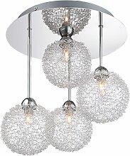 Luminaire suspendu plafonnier éclairage boules de