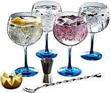 Luminarc Verres à cocktail couleur gin Kit de