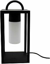 Lumisky - Lanterne filaire nomade JAZZ noir acier
