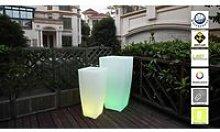 LUMISKY Pot lumineux Led sur batterie rechargeable