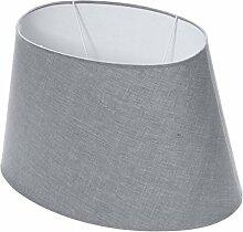 Lumissima Abat-jour ovale gris