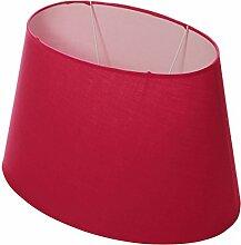 Lumissima Abat-jour ovale rouge