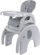 Luna - chaise haute évolutive 2en1 bébé/enfant