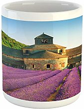 Lunarable Lavande Mug Abbaye de Senanque en France