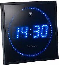 Lunartec Horloge Digitale Murale avec 60 LED -