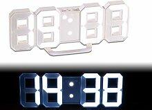 Lunartec Horloge LED Digitale Design 3D avec